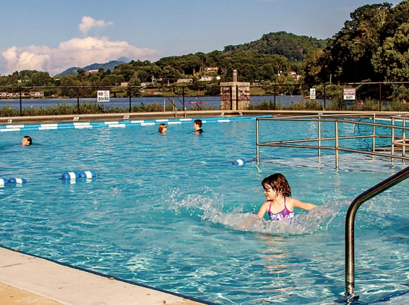 The Lake Junaluska pool is now open daily from 10 a.m. to 8 p.m. Lake Junaluska photo