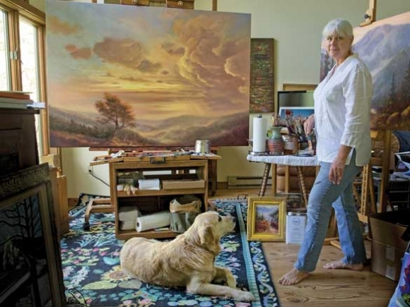 Sharing the craft: Jo Ridge Kelley Fine Art