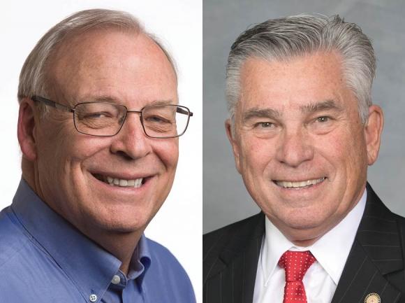 Bob Kuppers (left) and Jim Davis (right).