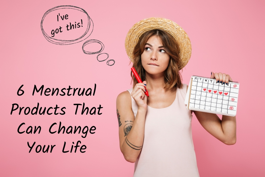 6 menstrual products that can change your life