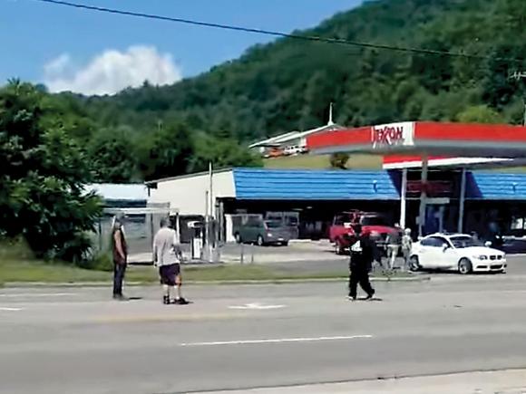 Macon woman wielding machete video goes viral