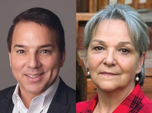 Richard Sneed and Teresa McCoy.