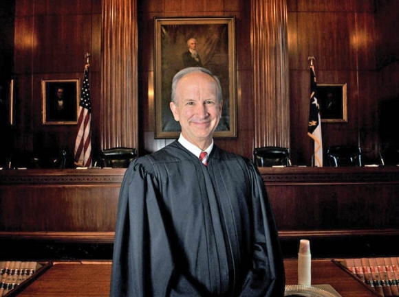 North Carolina Supreme Court Justice Paul Newby hopes to expand Republican influence on the state's highest court. Donated photo