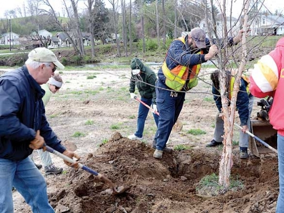 Clyde river park gets a facelift: Plans call for extensive tree planting, walking paths and river access