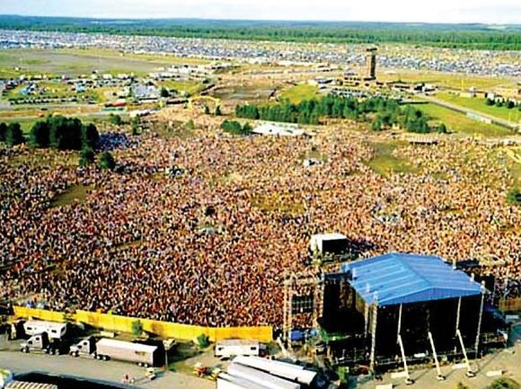 "Phish's ""IT Festival."" Garret K. Woodward photo"