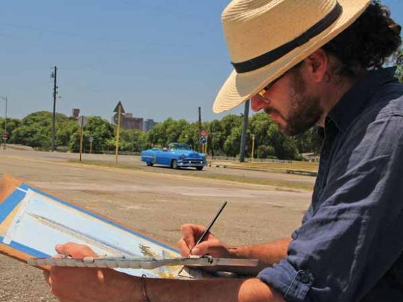 An Artist's Visit to Cuba