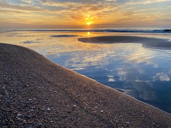 Sunrise at Edisto Island.