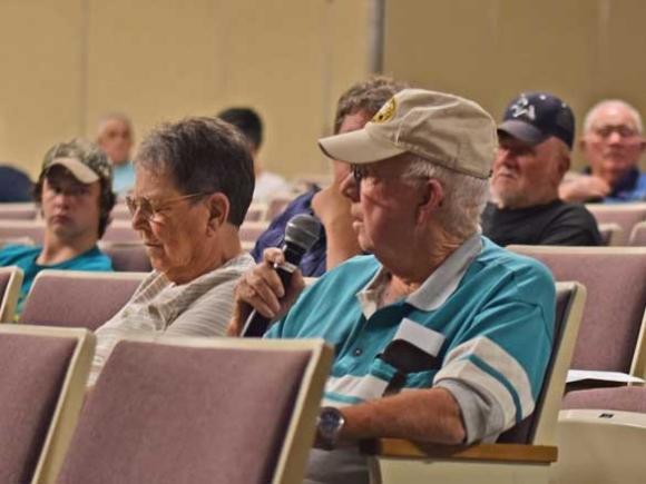Elk hearing draws a crowd