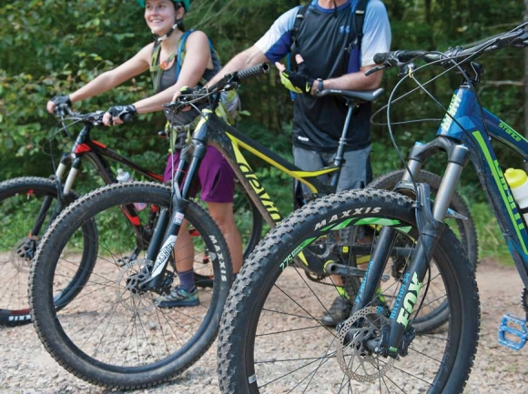 Backyard trails: Local mountain bike trails surge to popularity