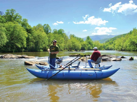 A feasibility study recommends access improvements to the Tuckasegee River in Bryson City.