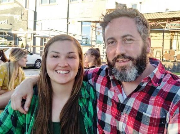 Heather and Garret.