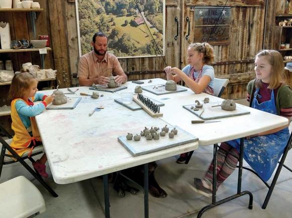 Art camps at The Bascom