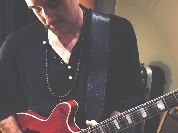 Scott Tournet backstage at Ambrose West. Garret K. Woodward photo