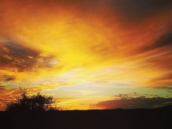 This must be the place: Ode to Butch Trucks, Texas sunsets