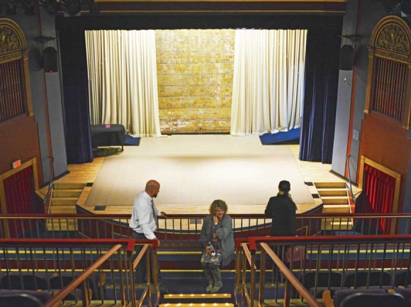 Canton's Colonial Theater (above) is in near-pristine condition but operates at a $110,000 yearly loss. File photo