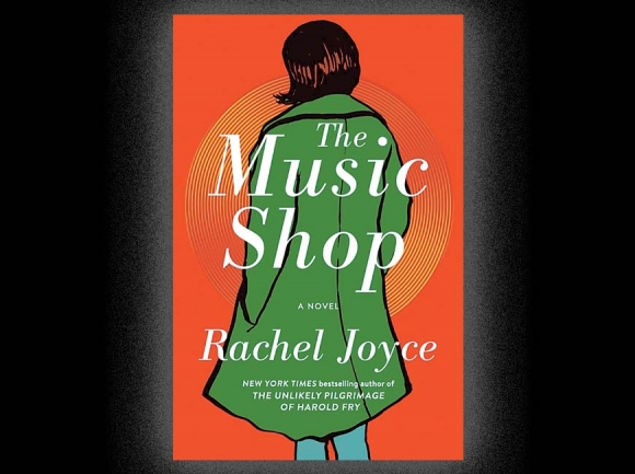 Characters and music star in The Music Shop