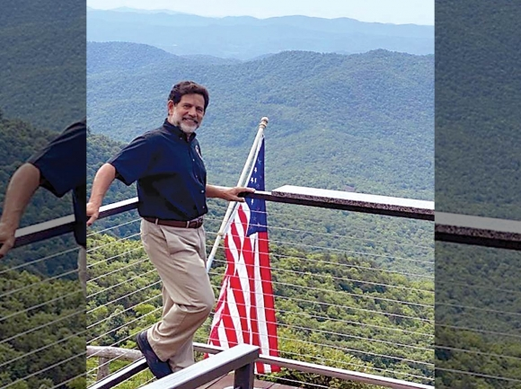 Bruce O'Connell, owner of the Pisgah Inn, becomes the latest Republican to challenge Rep. Madison Cawthorn. Donated photo