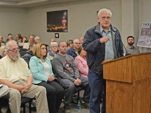 Dillsboro river park proposal draws a crowd