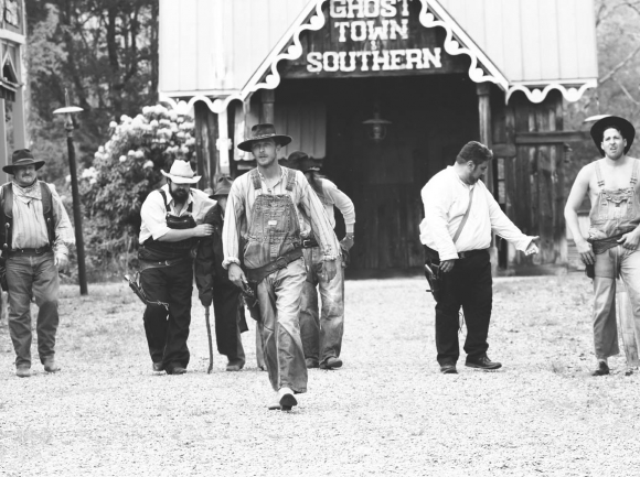 Ghost Town's iconic gunfighters reunited for one last performance before renovations on the park begin. Jeffrey Delannoy photo