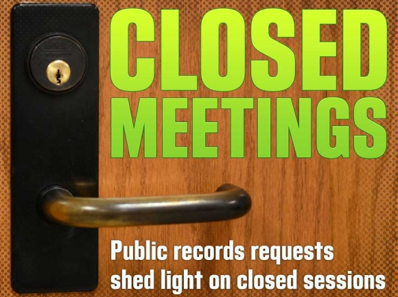 Public records requests shed light on closed sessions