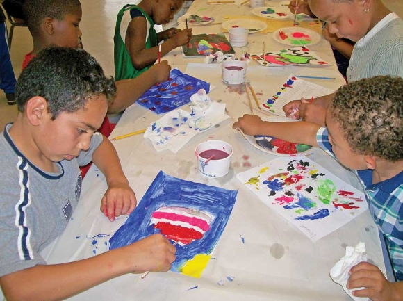The Pigeon Community Multicultural Development Center's summer enrichment program is more than just arts and crafts. PCMDC photo
