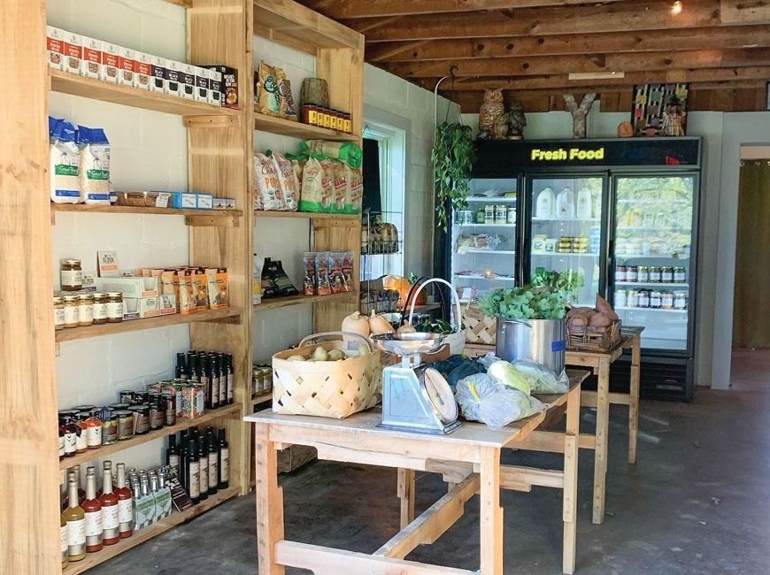 Yonder has pivoted from a farm-to-table restaurant to a fresh market grocery store during COVID-19. Donated photo