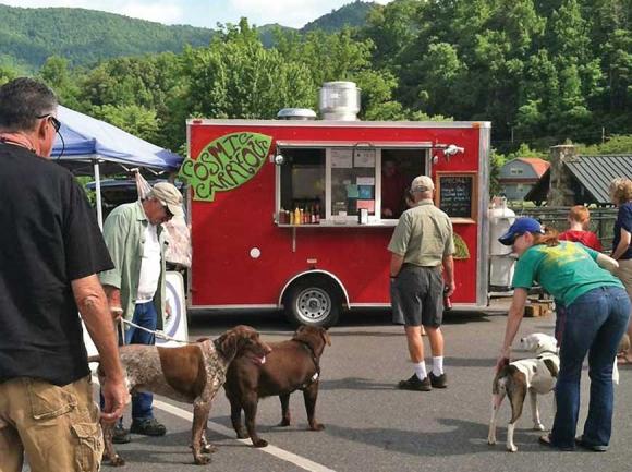 Cherokee, Sylva pass food truck ordinances