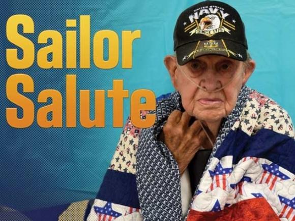 B-Day Victory! Community celebrates WWII veteran's birthday, service