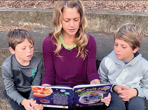 A winding plot to a published children's book