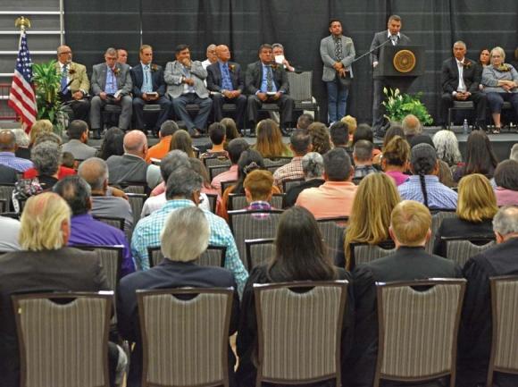 New leaders inaugurated in Cherokee