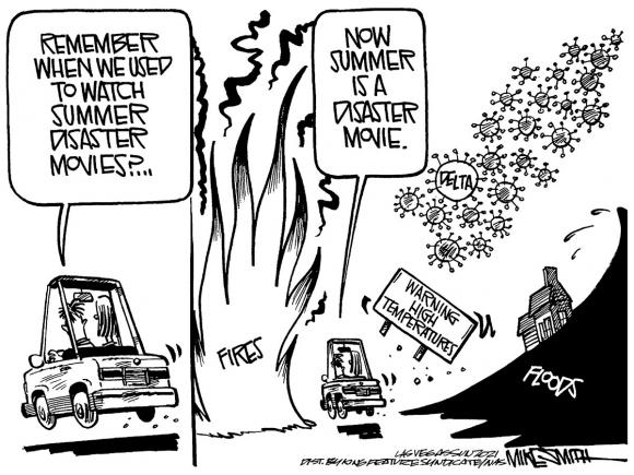 Cartoon, August 11, 2021