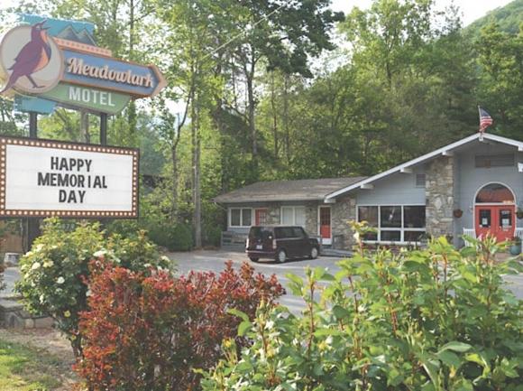 Meadowlark Motel.