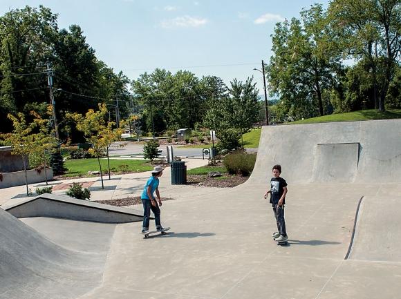 Waynesville skatepark.