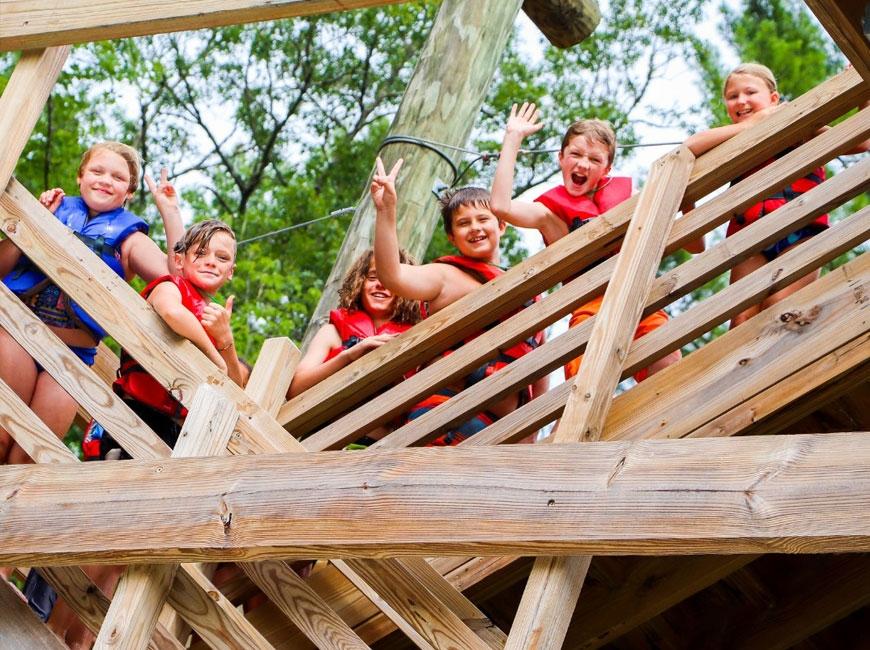 Kids return to Camp Watia this summer