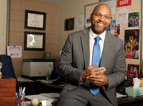 Henderson County educator Eric Gash is the latest candidate to announce an NC11 bid. Donated photo