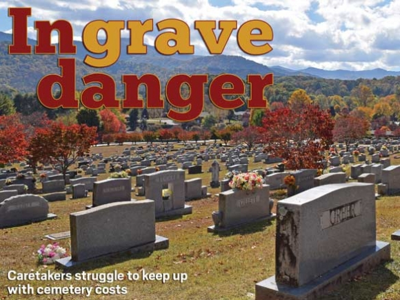 Graveyards threatened by cremations and costs
