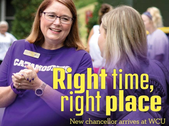 Leading Catamount Nation: WCU's new chancellor discusses her path to Cullowhee and vision for the university
