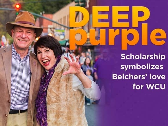 Leading by example: WCU chancellor, wife give $1.23 million for scholarships, reflect on Catamount identity