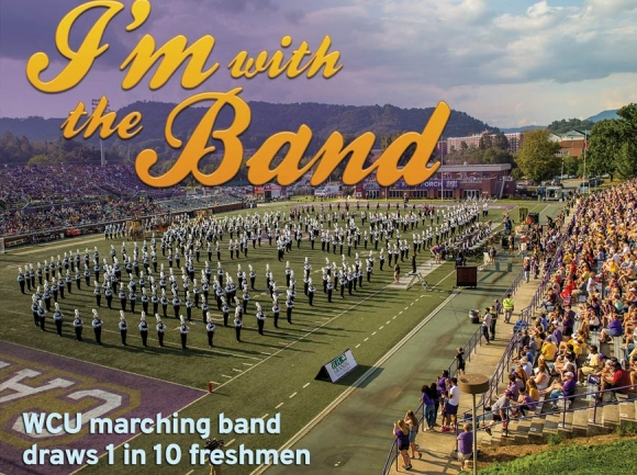 'The band that changes people's lives': WCU marching band a motivator for enrollment