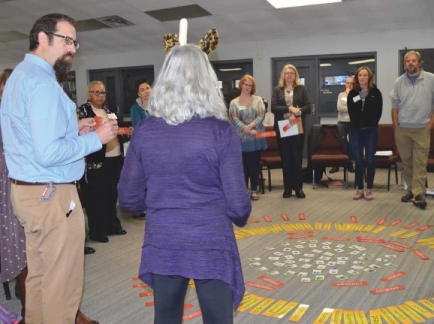 Haywood NAACP holds diversity training for educators last fall.
