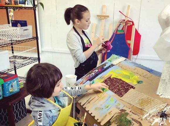 Waynesville Art School offers year round, summer instructional opportunities