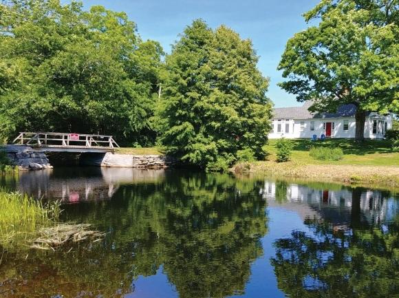 The Bristol swimming hole. (photo: Garret K. Woodward)