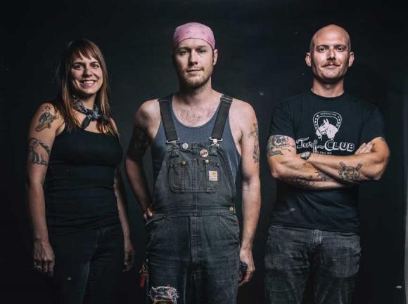 The Hooten Hallers. (photo: Dave Jackson)
