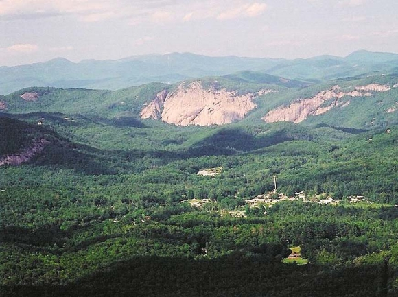 Many Highlands-Cashiers Land Trust properties are located in the Cashiers Valley. Donated photo