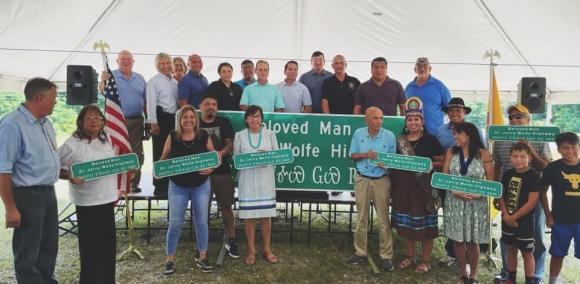 Highway dedicated in honor of Beloved Cherokee man