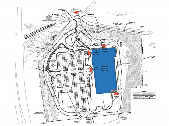 Officials with Angel Medical Center recently presented their plans for the replacement hospital set to be constructed off U.S. 441 in Franklin.