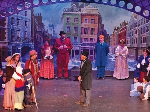 HART's scenic artist sets the stage for drama