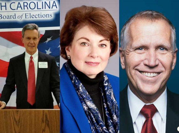 Sen. Tillis faces primary challengers