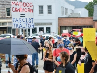Dueling rallies in Haywood highlight persistent divisiveness