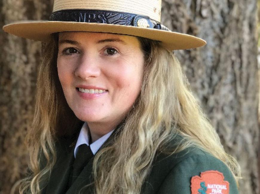 Tracy Swartout. NPS photo